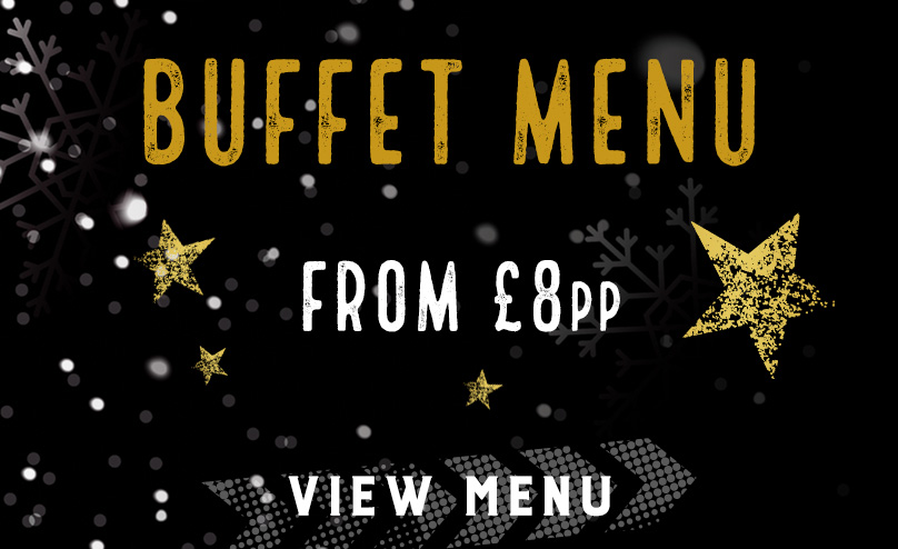 Festive buffet menu at The Mill
