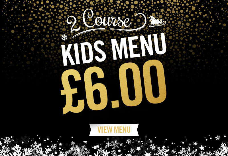 Kids Festive Menu at The Mill